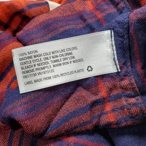 Mossimo Supply Co. Tops - 🆕️Mossimo Boyfriend Fit Flannel XS Juniors